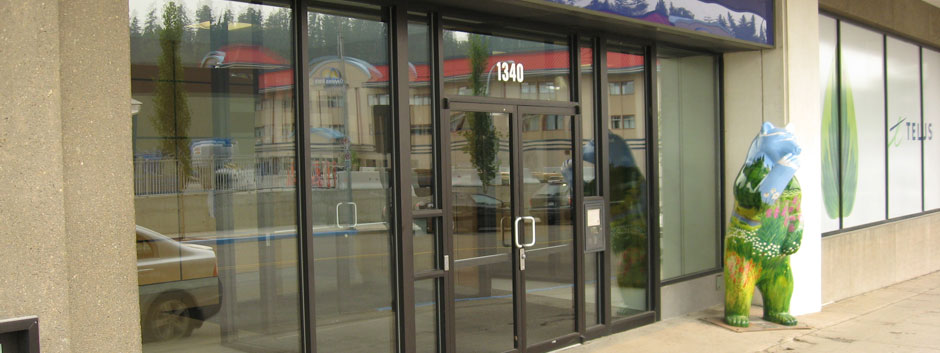 A Plus Automatic Door & Storefront Ltd.: Prince George Commercial Glazing, Curtain Walls and Store Fronts
